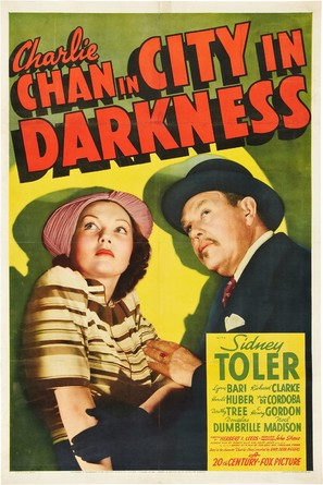 Charlie Chan in City in Darkness - Movie Poster (thumbnail)