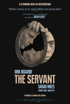 The Servant - British Movie Poster (thumbnail)