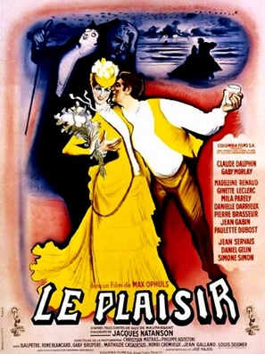 Le plaisir - French Movie Poster (thumbnail)