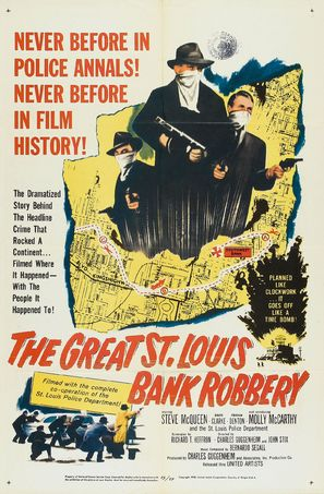 The Great St. Louis Bank Robbery - Movie Poster (thumbnail)