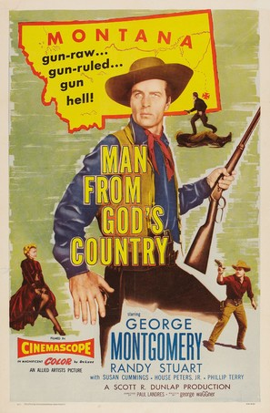 Man from God's Country - Movie Poster (thumbnail)
