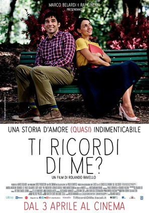 Ti ricordi di me? - Italian Movie Poster (thumbnail)