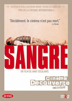 Sangre - French Movie Cover (thumbnail)