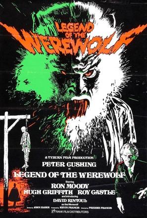 Legend of the Werewolf - British Movie Poster (thumbnail)