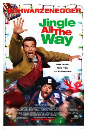 Jingle All The Way 1996 Polish Movie Cover