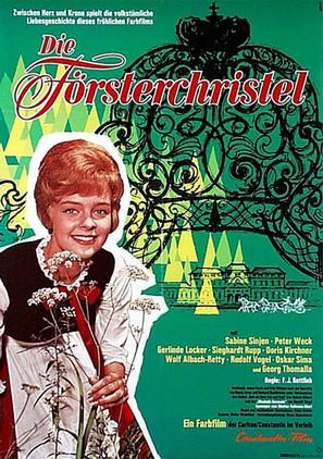 Försterchristel, Die - German Movie Poster (thumbnail)