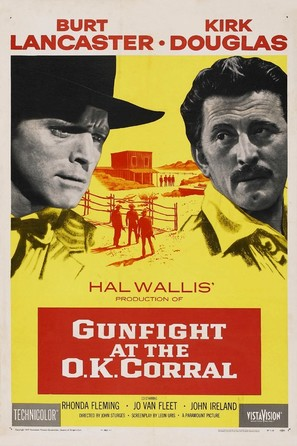 Gunfight at the O.K. Corral - Movie Poster (thumbnail)