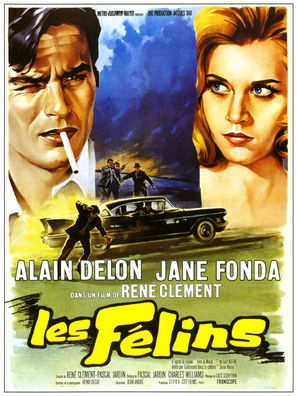 Les félins - French Movie Poster (thumbnail)