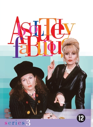 """Absolutely Fabulous"" - Dutch DVD movie cover (thumbnail)"