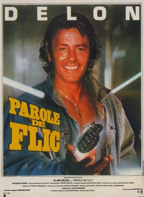 Parole de flic - French Movie Poster (thumbnail)