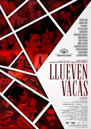 Llueven vacas - Spanish Movie Poster (thumbnail)