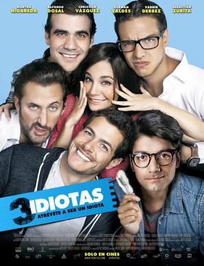 3 Idiotas - Mexican Movie Poster (thumbnail)