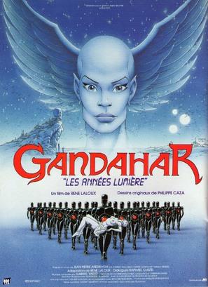 Gandahar - French Movie Poster (thumbnail)
