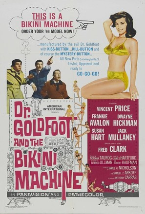 Dr. Goldfoot and the Bikini Machine - Movie Poster (thumbnail)