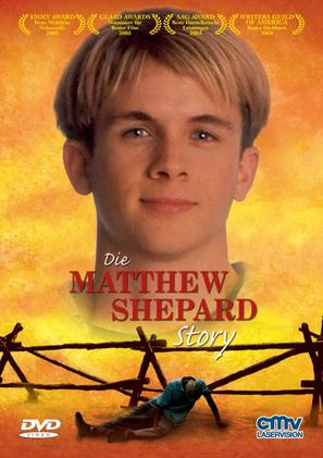 The Matthew Shepard Story - German DVD cover (thumbnail)