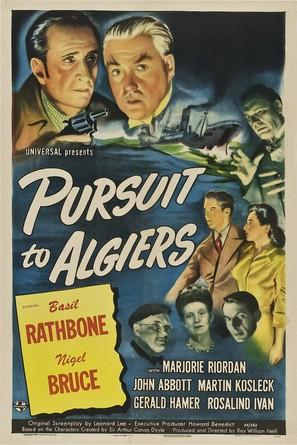 Pursuit to Algiers - Movie Poster (thumbnail)