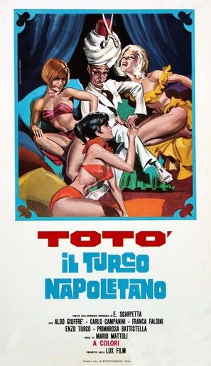 Un turco napoletano - Italian Theatrical movie poster (thumbnail)
