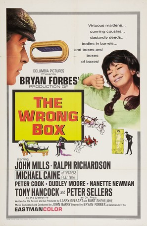 The Wrong Box - Movie Poster (thumbnail)
