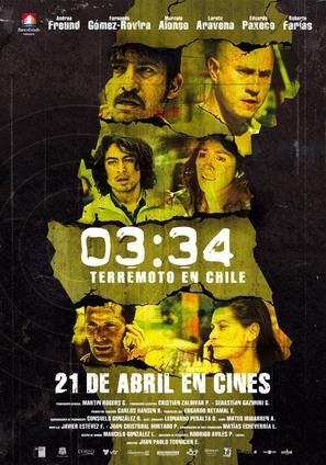 03:34 Terremoto en Chile - Chilean Movie Poster (thumbnail)