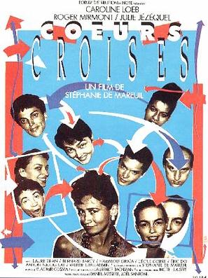 Coeurs croisés - French Movie Poster (thumbnail)