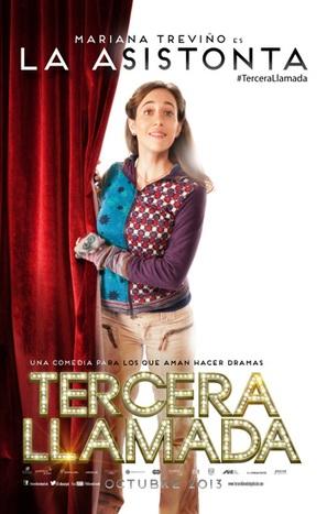 Tercera Llamada - Mexican Movie Poster (thumbnail)