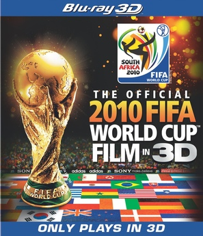 The Official 3D 2010 FIFA World Cup Film - Blu-Ray cover (thumbnail)
