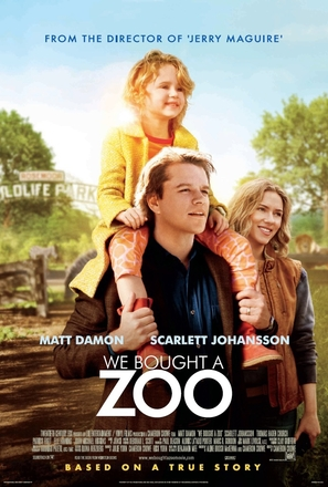 We Bought a Zoo - Theatrical movie poster (thumbnail)