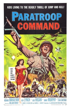 Paratroop Command - Movie Poster (thumbnail)