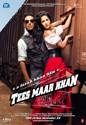 Tees Maar Khan - Indian Movie Poster (thumbnail)