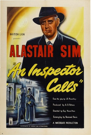 An Inspector Calls - British Movie Poster (thumbnail)
