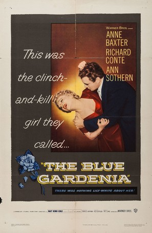 The Blue Gardenia - Movie Poster (thumbnail)