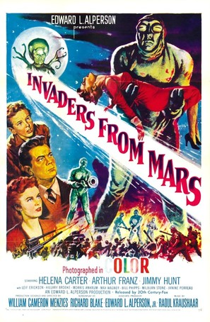 Invaders from Mars - Movie Poster (thumbnail)