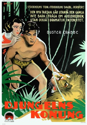 King of the Jungle - Swedish Movie Poster (thumbnail)