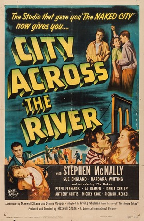 City Across the River - Movie Poster (thumbnail)