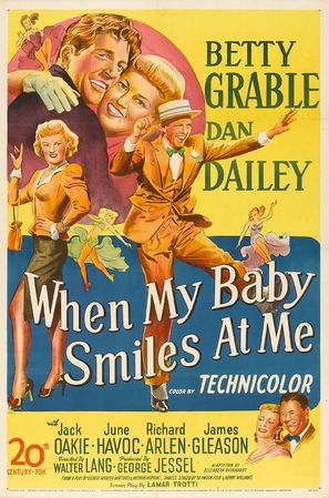 When My Baby Smiles at Me - Movie Poster (thumbnail)