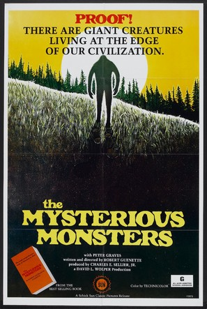 The Mysterious Monsters - Movie Poster (thumbnail)
