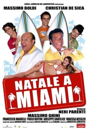 Natale a Miami - Italian Movie Poster (thumbnail)