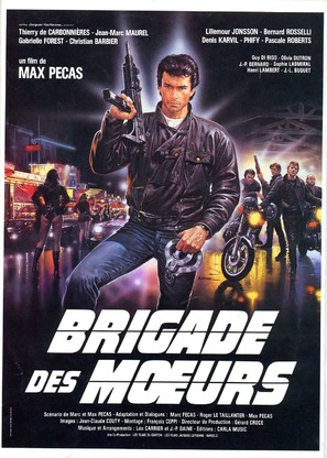 Brigade des moeurs - French Movie Poster (thumbnail)