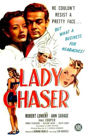 Lady Chaser - Movie Poster (thumbnail)