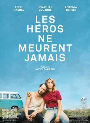 Les héros ne meurent jamais - French Movie Poster (thumbnail)