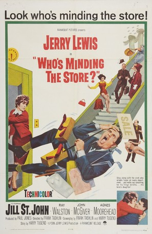 Who's Minding the Store? - Movie Poster (thumbnail)