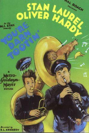 You're Darn Tootin' - Movie Poster (thumbnail)