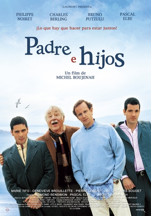 Père et fils - Spanish Movie Poster (thumbnail)