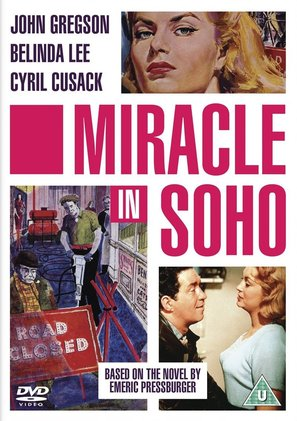 Miracle in Soho - British DVD movie cover (thumbnail)