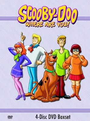 """""""Scooby-Doo, Where Are You!"""" - DVD movie cover (thumbnail)"""