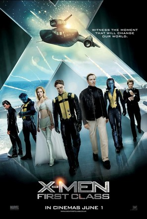 X-Men: First Class - British Movie Poster (thumbnail)