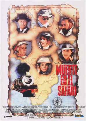 Ten Little Indians - Spanish Movie Poster (thumbnail)