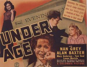 Under Age - Movie Poster (thumbnail)