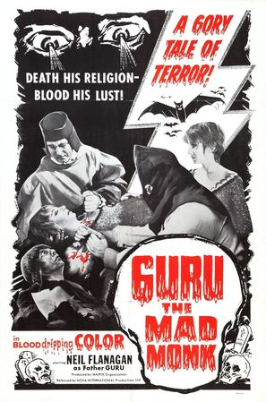 Guru, the Mad Monk - Movie Poster (thumbnail)