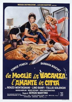 La moglie in vacanza... l'amante in città - Italian Theatrical movie poster (thumbnail)